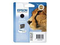 Cartucho Ink-Jet Epson C13T07114021 Blister+alarma negro