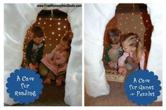 DIY Project: Create a Light-Up Cave of Wonders