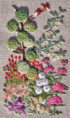 ♒ Enchanting Embroidery ♒ embroidered Surface Embroidery Kits – Perfect for Learning! – Needle'nThread.com