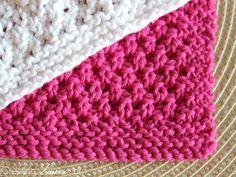 Creating Laura: Knitting Washcloths