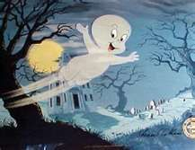 Casper, the friendly ghost. #oldschoolcartoons