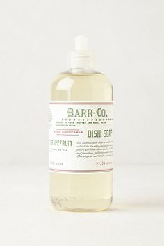 Barr-Co. Dish Soap #anthropologie
