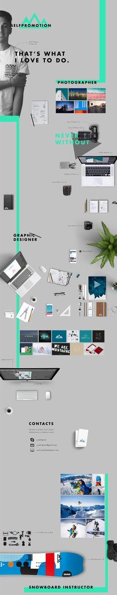 Paolo Pettigiani  behancé  18 de marzo de 2015    Self Promotion // Free CV    Marcas Diseño editorial Diseño gráfico