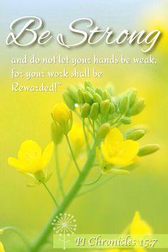 II Chronicles 15:7