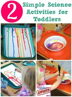 Toddler Approved!: 2 Simple Science Activities for Toddlers