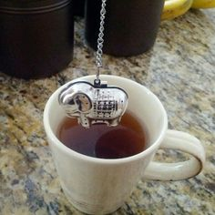♥ Tiny elephant #tea infuser! So cute! I got this as a present a while ago :-))).