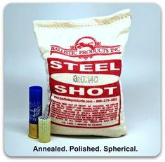 Steel Shot #F/#TTT (bag/10#)