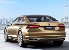 VW C Coupé GTE : la berline hybride s'expose à Shanghai