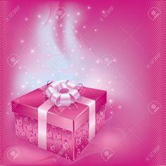 12028562-Brillante-cartolina-di-festa-con-confezione-regalo-e-decorazioni-su-bacground-rosa-per-eventi-della--Archivio-Fotografico.jpg (1300×1300)