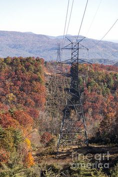 Smoky Mountains Transmission Towers