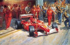 TOUCHING HEARTS: SPLENDID CLASSIC CARS IN ALAN FEARNLEY'S PAINTINGS