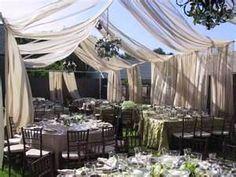 reception half tent
