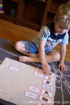 Montessori Pink Series- great post, lots of links