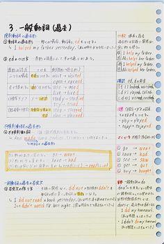 Japanese Language Lessons, Korean Language Learning, Japanese Handwriting, Study Japanese, Bullet Journal Notes, English Study, Study Inspiration, Study Notes, Study Motivation