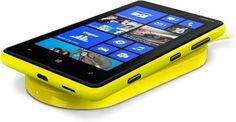 Nokia Lumia 820 Yellow Wireless Charging Plate