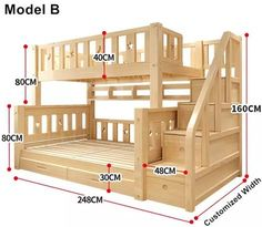 Louis Mode Kinder Etagenbett Echte Kiefer Holz mit Leiter Treppen Schubladen Sic… Louis Mode Kids Bunk Bed Genuine Pine Wood with Ladder Stairs Drawers Safe and Strong Bunk Beds With Stairs, Kids Bunk Beds, Cool Bunk Beds, Pallet Bunk Beds, Full Size Bunk Beds, Safe Bunk Beds, Childrens Bunk Beds, Wooden Pallet Beds, Bunk Bed With Trundle