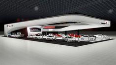 WEB LUXO - Carros de Luxo: Audi revela detalhes do seu estande no Salão do Automóvel 2012
