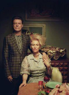 David Bowie & Tilda Swinton