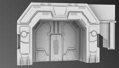 3D sci fi model by Eowynu on DeviantArt