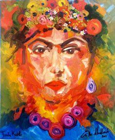 La mia Frida Kahlo Piedi, a cosa mi servite se ho le ali per volare?