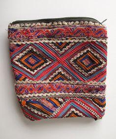 Bag sewn by Nirona tribal women in Kutch, India