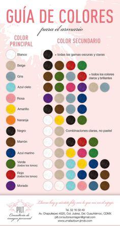 Guía de colores para el armario | Stephany Iglesias