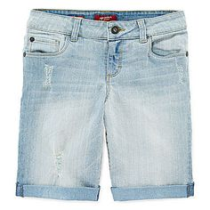 jcp | Arizona Bermuda Shorts - Girls 7-16 and Plus