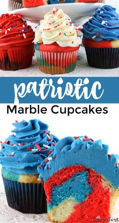 4th Of July Desserts, Fourth Of July Food, July 4th, Holiday Desserts, Holiday Baking, Fondant Cakes, Cupcake Cakes, Fondant Tips, Cupcake Ideas