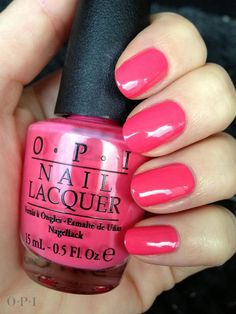 We use and sell O.P.I. nail polish in our salon!