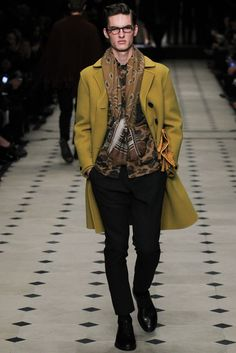 Burberry Prorsum - Fall 2015 Menswear - Look 7 of 49