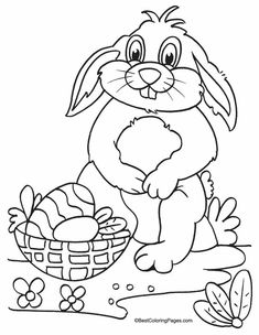 kids easter coloring page free Easter Coloring Sheets, Easter Colouring, Coloring Pages For Kids, Colouring Pages, Coloring Books, Easter Projects, Easter Crafts, Easter Printables, Free Printable Coloring Pages