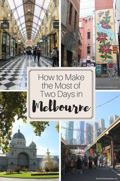 This detailed travel itinerary will help you make the most of two days in Melbourne, Australia and includes the best things to do, see, and eat. Australia Travel Guide, Australia Tourism, Visit Australia, Melbourne Australia, Brisbane, Western Australia, Australia Holidays, Australia Trip, Coast Australia