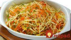 Plný vitamínov: Chrumkavý šalát z marinovanej kapusty, cesnaku a mrkvy! Indian Salads, Types Of Salad, Cooking Recipes, Healthy Recipes, Cooking Instructions, Russian Recipes, What To Cook, Salad Dressing, Japchae
