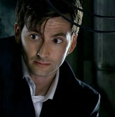 David Tennant Photo Of The Day - 8th October 2014:  As the Tenth Doctor in 'Voyage Of The Damned' - December 2007