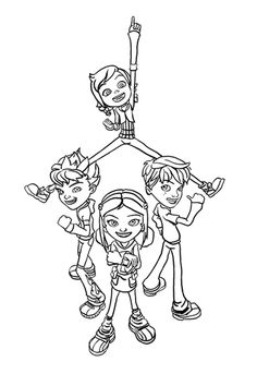 12 Best раскраски Jetix Images In 2019 Coloring Pages