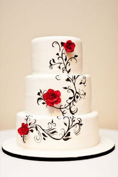 Scrumptious range of freshly baked Wedding cakes, to make your wedding even more memorable.