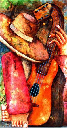 Músicos, Lucrecia Santos