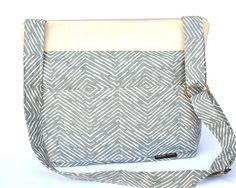 Camera Bag, DSLR purse and Photographers slr camera bag, Denim Blue and Natural Linen by Darby Mack
