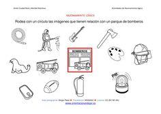 RAZONAMIENTO-LÓGICO-categorizar-y-agrupar-objetos-parque-de-bomberos-ByN-imagen.jpg 842×596 píxeles