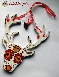 sugar skull deer
