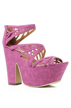 The Trego Shoe in Berry #karmaloop