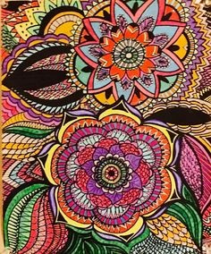 ColorIt Adult Coloring Book: Calming Doodles Volume 1 - Doodle Coloring Book & Art Therapy - Anti Stress Coloring Book For Adults: ColorIt, Virginia Falkinburg: 0638037928204: Amazon.com: Books