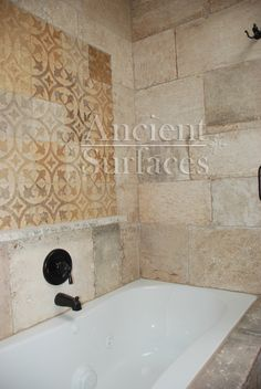 images ancient french floors | Kronos Limestone used in a bathroom and shower floors and walls