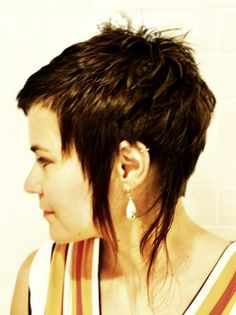 Fun haircut by Robin #lakshmihairstudio