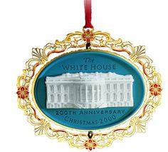 2000 White House Christmas Ornament, 200th Anniversary of the White House *** You can find out more details at the link of the image.