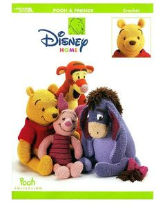 Pooh and friends Crochet - Rose Valentine - Picasa Web Albums