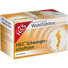 H&S Wohlfühltee feminin Schwangerschaftstee:   Packungsinhalt: 20 St Filterbeutel PZN: 05351081 Hersteller: H&S Tee - Gesellschaft mbH &…