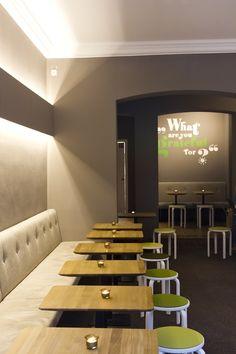 Maxvorstadt München: Quirlig draußen, cozy drinnen!  @Gratitude-organic eatery