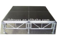 outdoor aluminum portable platform big concert plywood stage