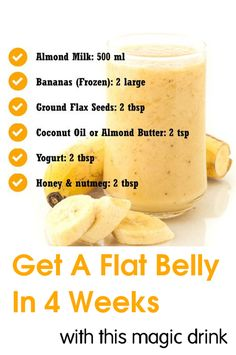 Now, let us come to our magical drink recipe, which will help you lose excess stomach fat without having to perform any strenuous exercises. - Julianna Hyde - Google+
